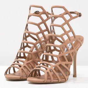 Steve Madden 'Slithur' Heel Sandal Tan